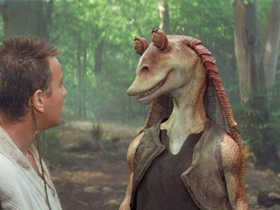 The Jar Jar Binks character drew accusations of racism (Lucasfilm)