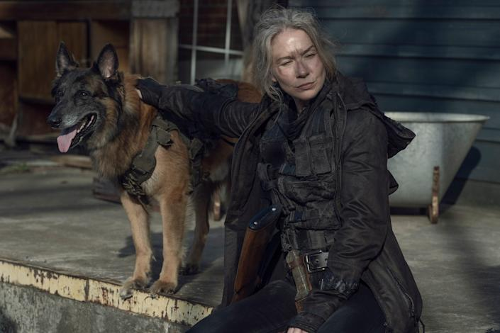TWD 1104 Dog and Leah