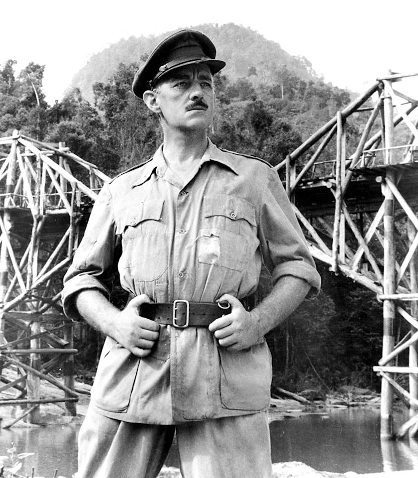 THE BRIDGE ON THE RIVER KWAI,