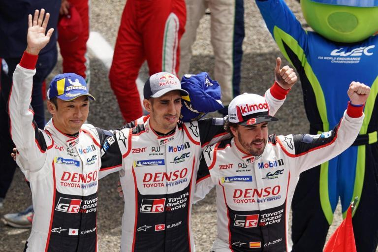 Fernando Alonso wins Le Mans 24-hour race with Toyota for second successive year