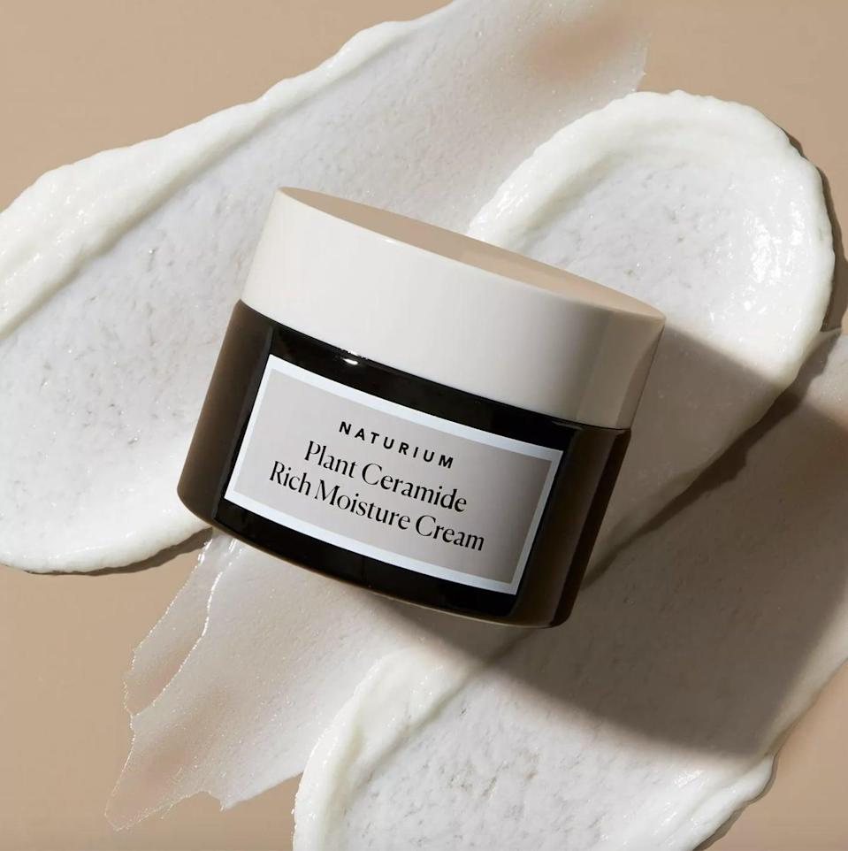 <p>If you need extra moisture, the <span>Naturium Plant Ceramide Rich Moisture Cream</span> ($25). The ceramides will help strengthen your skin's lipid barrier so that all the hydration and moisture gets locked in.</p>