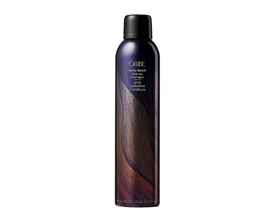"""<p><strong>ORIBE</strong></p><p>amazon.com</p><p><strong>$44.00</strong></p><p><a href=""""https://www.amazon.com/dp/B005LW0BI8?tag=syn-yahoo-20&ascsubtag=%5Bartid%7C10058.g.2902%5Bsrc%7Cyahoo-us"""" rel=""""nofollow noopener"""" target=""""_blank"""" data-ylk=""""slk:SHOP IT"""" class=""""link rapid-noclick-resp"""">SHOP IT </a></p><p>Sultry, shiny waves are at your disposal with this moisturizing salt spray. While you're island-hopping this summer, this blend of botanical extracts and oils will keep your texture tousled and nourished without the stiffness most salt sprays come with.</p>"""