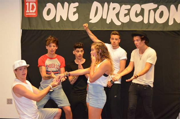 Avril lavigne really needs a how to guide on meet and greets with fans view photos british boy band one direction m4hsunfo