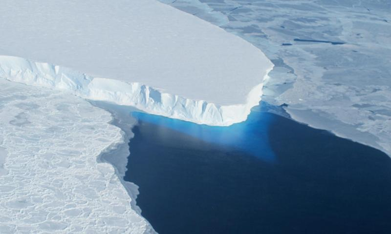 Thwaites Glacier in Antarctica developed a cavity almost as large as Manhattan