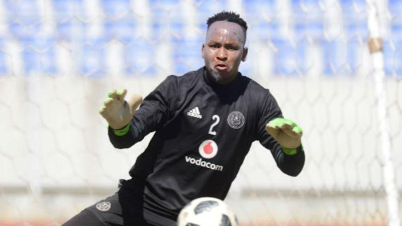 Goalkeeper Brilliant Khuzwayo in no rush to make Orlando Pirates debut