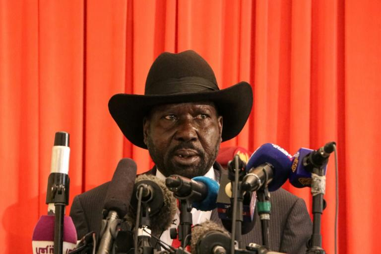 South Sudan's President Salva Kiir addresses the nation after receiving an extension of 100 days to form a unity government