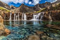 <p>Stroll to the rushing waters of Scotland's famous fairy pools. </p>