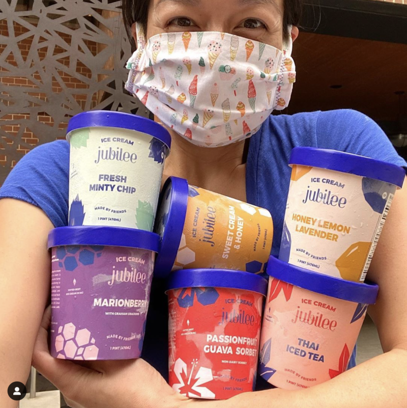 Victoria Lai, owner of Ice Cream Jubilee (Photo: Instagram/Ice Cream Jubilee)