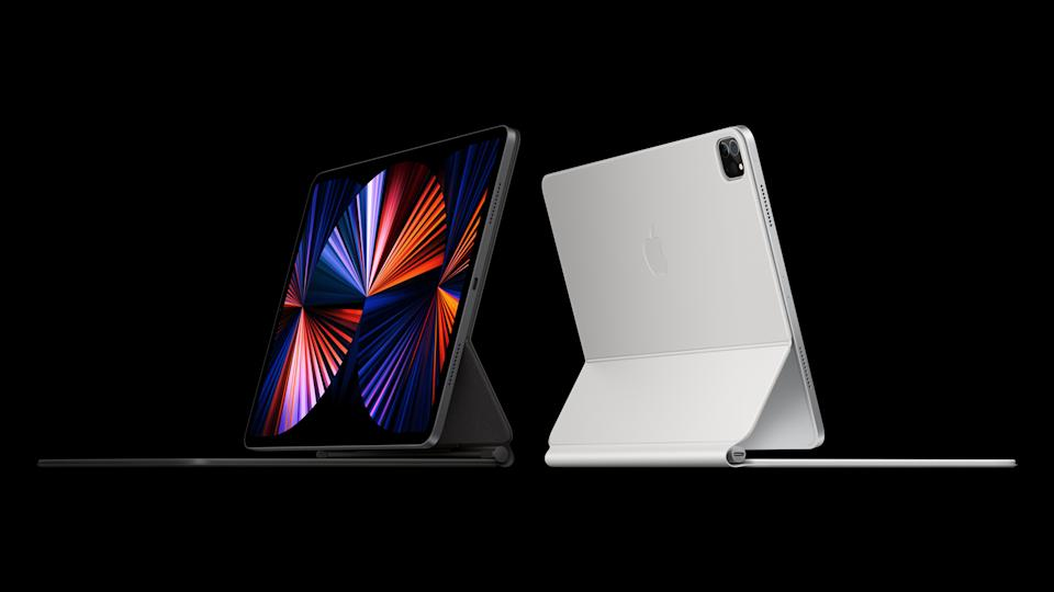 Apple unveiled a new iPad at its April 20, 2021 event.
