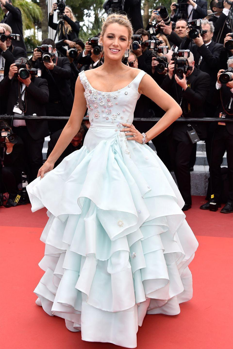 <p>Blake Lively in Vivienne Westwood</p>