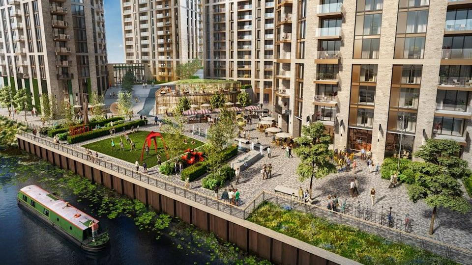 From £327,000: Weston Homes' riverside Abbey Quay scheme brings 1,089 homes (Handout)
