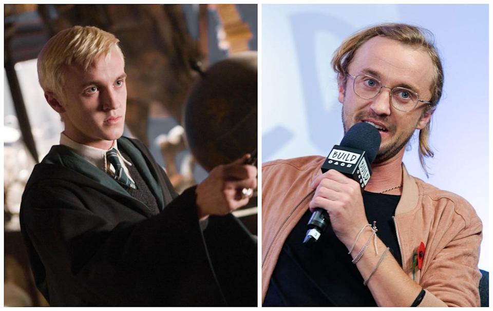 Tom Felton starred as Draco Malfoy in the Harry Potter movies.