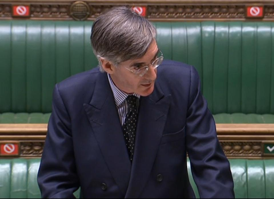 Jacob Rees Mogg defended the need to spend large amounts of money communicating the necessity and safety of vaccines. (PA)