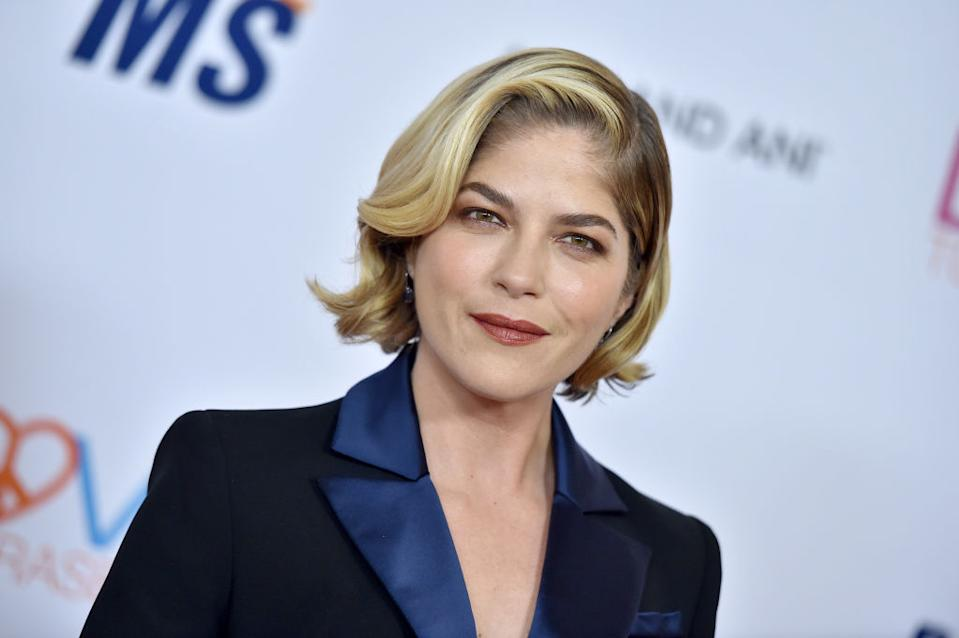 Selma Blair has revealed she's currently in remission from MS. (Photo by Axelle/Bauer-Griffin/FilmMagic)