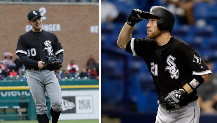 David Robertson and Todd Frazier are headed to the Yankees. (AP)