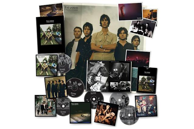 <p>For this five-CD, one-DVD box celebrating the British band's breakthrough 1997 album, the original disc has been remastered and is paired with a compilation of B-sides, rarities, and a live recording of a 1998 show. The DVD includes the documentary <em>The Video 96-98</em>, as well as a live concert and music videos. The CD version comes with a 56-page hardcover book, a poster, and five postcards. The three-LP vinyl version comes with a 20-page book. This album captured the Verve at the height of their powers, so if you're a fan, it's worth investing in this set. (Photo: Universal) </p>