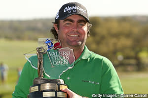 Steven Bowditch picked up his first victory on the PGA TOUR at the Valero Texas Open on Sunday