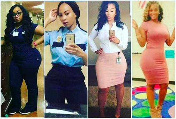 Click through the gallery to see the curvy professional baes. (Instagram/dream_chaser50)