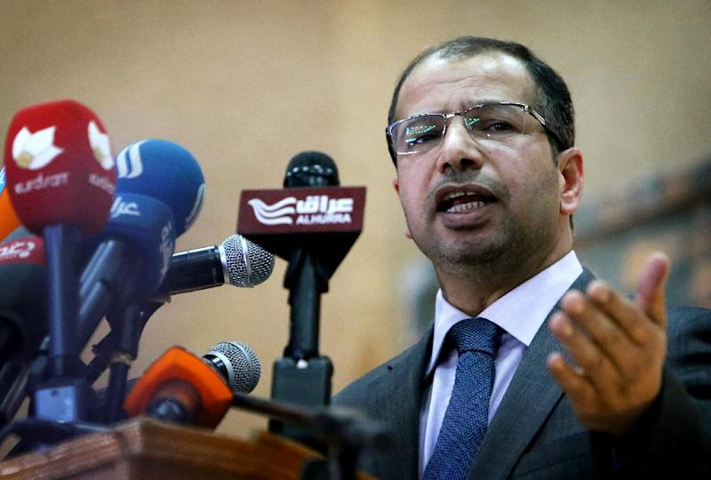 A boycott of Iraq's parliament by Sunni MPS has been announced on the Facebook page of speaker Salim al-Juburi