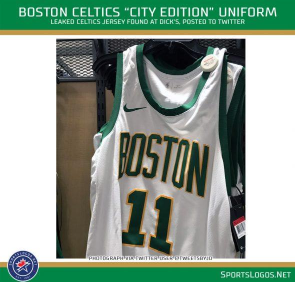 Photo of new Celtics  City Edition  jersey leaked cadea3ad8