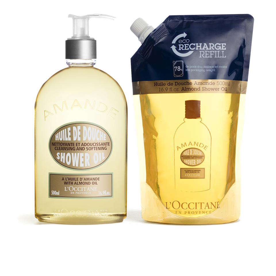 "<h3>L'Occitane Almond Shower Refill Duo</h3><br>If you know someone (maybe that person is you!) with a soft spot for fancy French body lotion, then this nourishing shower oil (which comes with a 16.9fl oz pouch refill) will make for an amazing treat-yourself gift.<br><br><strong>L'Occitane</strong> Almond Shower Refill Duo, $, available at <a href=""https://go.skimresources.com/?id=30283X879131&url=https%3A%2F%2Fwww.loccitane.com%2Fen-us%2Falmond-shower-refill-duo-864736.html"" rel=""nofollow noopener"" target=""_blank"" data-ylk=""slk:L'Occitane"" class=""link rapid-noclick-resp"">L'Occitane</a>"