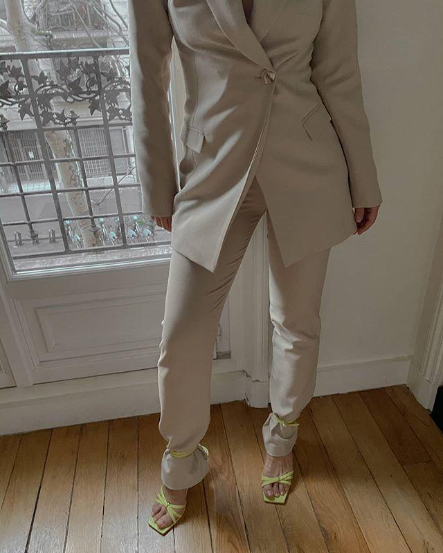 """<p>Hope you're not easily prone to foot tans, because sandals are getting strap-happy this summer. Easily dressed up or down, these are sure to be in heavy rotation this season, as they can just as easily be worn with a midi dress as a pair of beat-up boyfriend jeans.</p><p><a href=""""https://www.instagram.com/p/B-AQxBiF4SI/?utm_source=ig_web_copy_link"""" rel=""""nofollow noopener"""" target=""""_blank"""" data-ylk=""""slk:See the original post on Instagram"""" class=""""link rapid-noclick-resp"""">See the original post on Instagram</a></p>"""