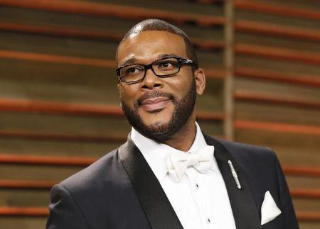 Director Tyler Perry  in West Hollywood, California March 2, 2014. REUTERS/Danny Moloshok