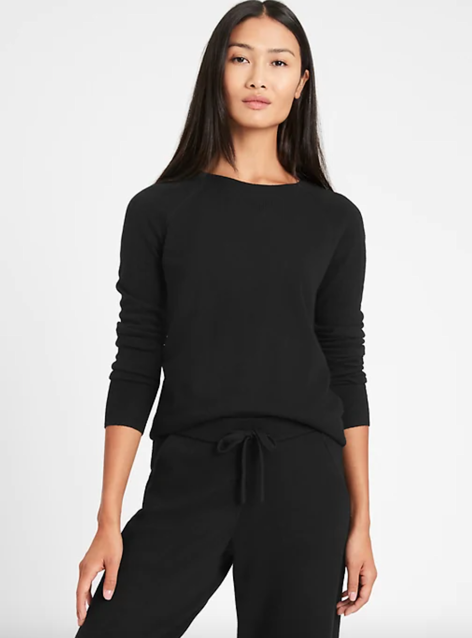 """<br><br><strong>Banana Republic</strong> Italian Wool-Cashmere Cropped Sweater, $, available at <a href=""""https://go.skimresources.com/?id=30283X879131&url=https%3A%2F%2Fbananarepublic.gap.com%2Fbrowse%2Fproduct.do%3Fpid%3D657989002"""" rel=""""nofollow noopener"""" target=""""_blank"""" data-ylk=""""slk:Banana Republic"""" class=""""link rapid-noclick-resp"""">Banana Republic</a>"""