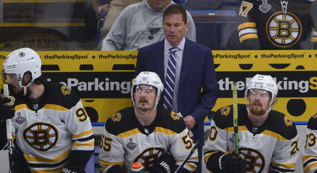 The Boston Bruins have given head coach Bruce Cassidy an extension. (Jeff Curry-USA TODAY Sports)