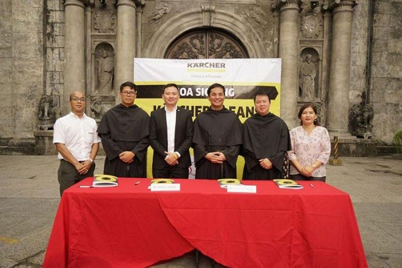 Kärcher partners with San Agustin Church for cultural preservation program