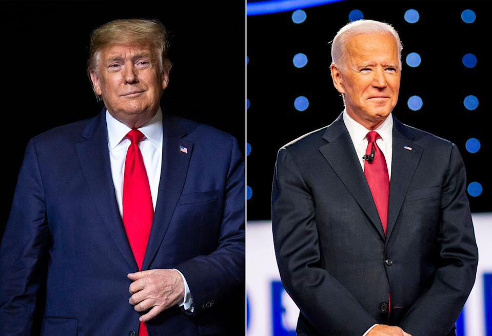 """President Donald Trump and former VP Joe Biden were interviewed by CBS newsmagazine """"60 Minutes,"""" and the contrast were stark."""