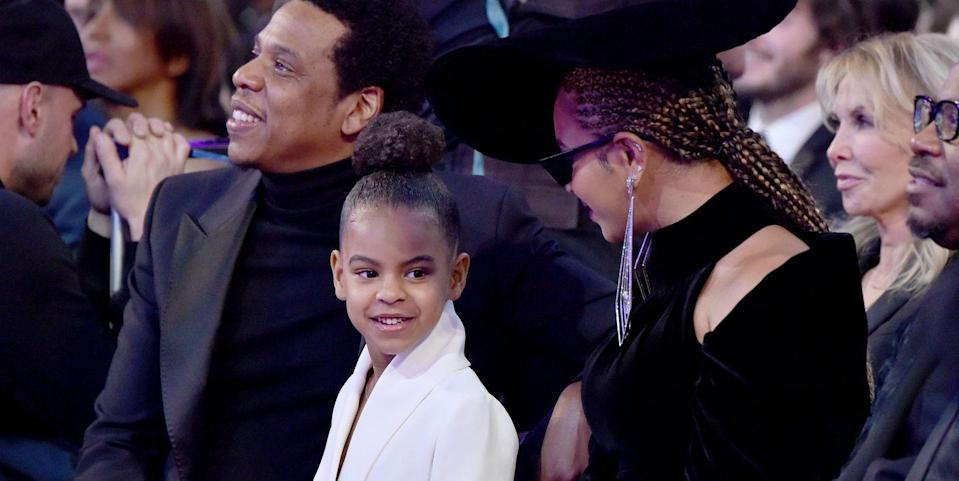 Twitter Is Living for Blue Ivy Carter's Appearance in Her Mom Beyoncé's New Ivy Park Video
