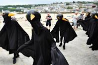Protests during G7 summit in Cornwall