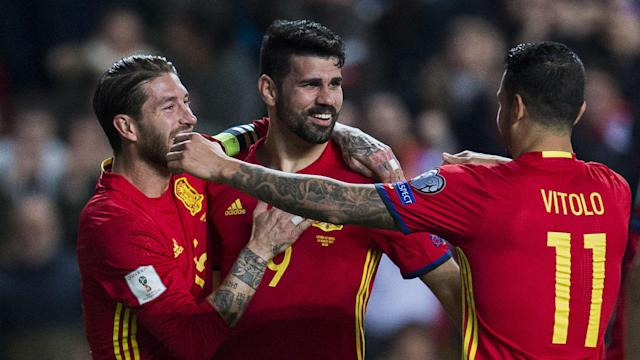 The burly frontman endured a controversial and troubled introduction into the national side, but he is thriving under the guidance of Julen Lopetegui