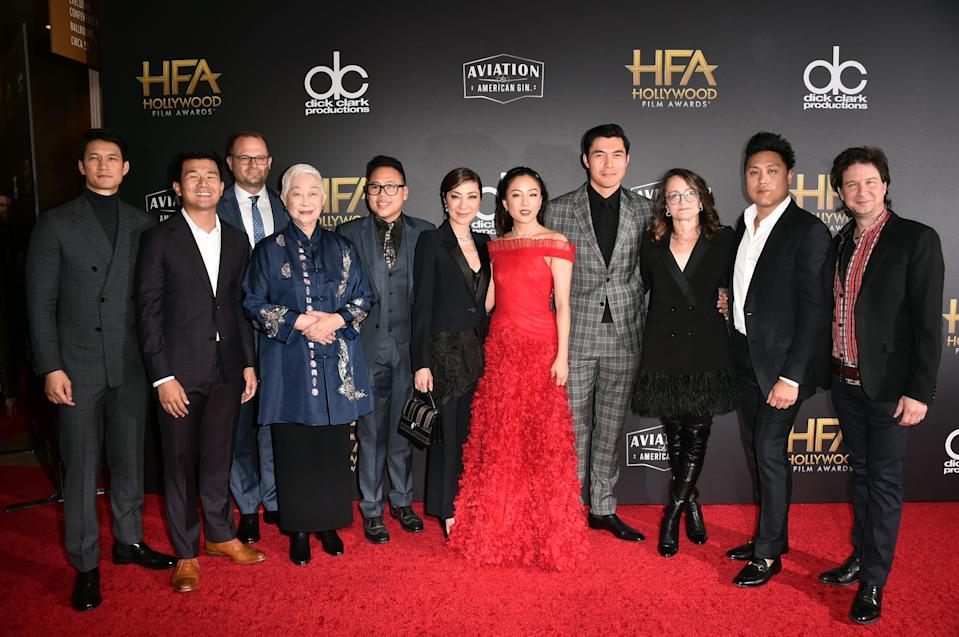 crazy rich asians cast and writers