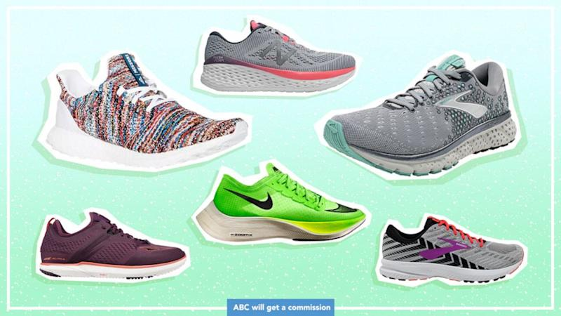 Shop these hot running shoes to help you go the distance this summer