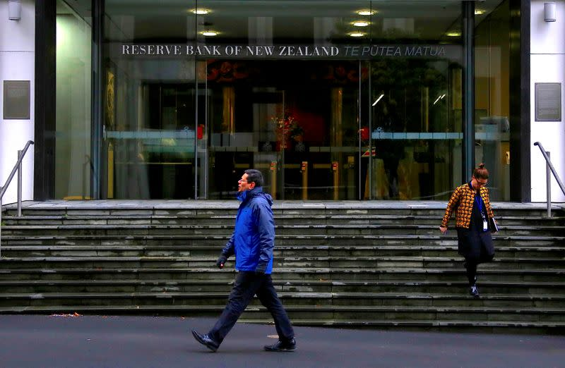 New Zealand central bank expands bond-buying, warns of negative rates as nation locks down again