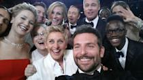 <p>The talk show presenter has hosted the Academy Awards twice in 2007 and then seven years later in 2014. During the latter, she broke the internet taking a star-studded selfie featuring Bradley Cooper, Meryl Streep, Jennifer Lawrence, Julia Roberts, Brad Pitt and Angelina Jolie.</p>