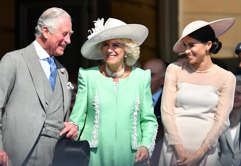 Camilla, Duchess of Cornwall Shares Excitement About Meghan and Harry's Baby with American Tourist