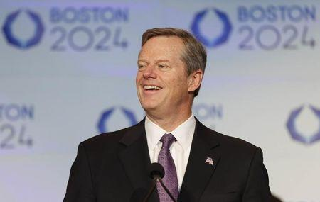 Olympics: Boston 2024-Press Conference