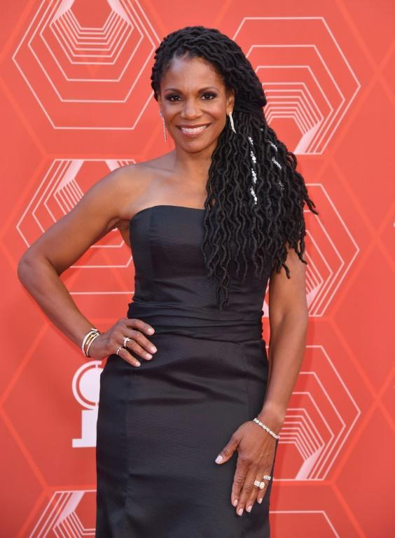 US singer-actress Audra McDonald hosted the first portion of the Tonys, at which most of the awards were handed out (AFP/Angela Weiss)