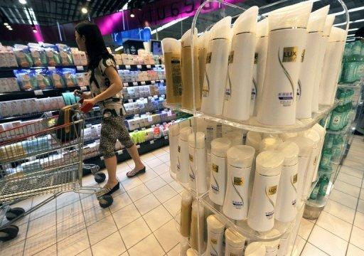 Unilever reports five percent profit rise