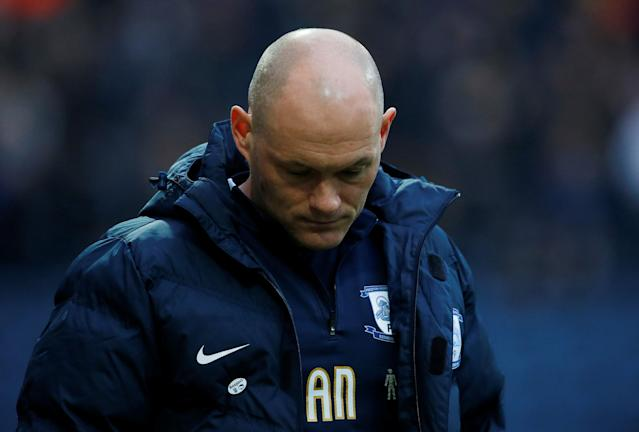 "Soccer Football - Championship - Preston North End vs Leeds United - Deepdale, Preston, Britain - April 10, 2018 Preston North End manager Alex Neil before the match Action Images/Craig Brough EDITORIAL USE ONLY. No use with unauthorized audio, video, data, fixture lists, club/league logos or ""live"" services. Online in-match use limited to 75 images, no video emulation. No use in betting, games or single club/league/player publications. Please contact your account representative for further details."