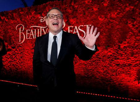 "FILE PHOTO: Director of the movie Bill Condon poses at the premiere of ""Beauty and the Beast"" in Los Angeles, California, U.S. March 2, 2017.   REUTERS/Mario Anzuoni/File Photo"