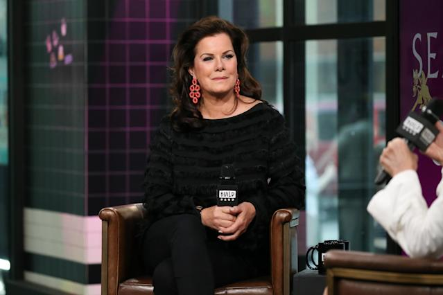Marcia Gay Harden attends the Build Series at Build Studio on May 2, 2018, in New York City. (Photo by Rob Kim/Getty Images)