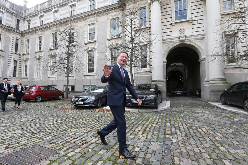 No deal Brexit back as a risk for Irish economy - finance minister