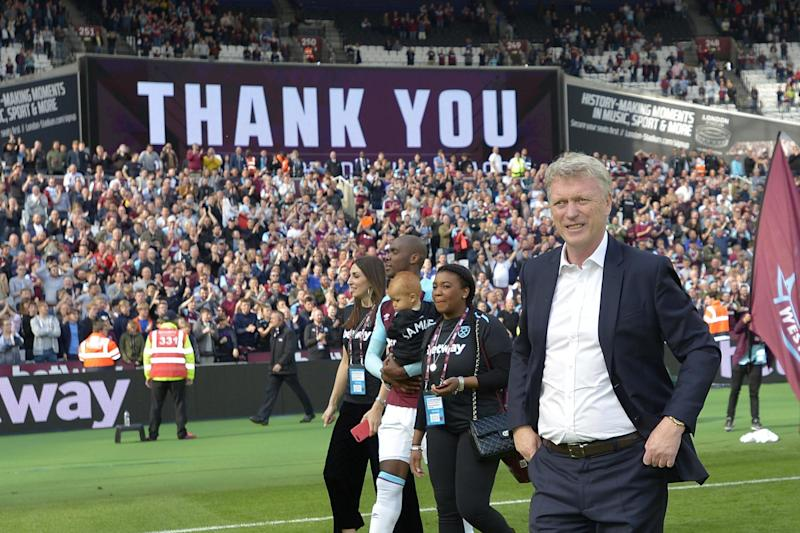 In limbo   David Moyes is currently in talks with West Ham but remains uncertain over his future: West Ham United via Getty Images