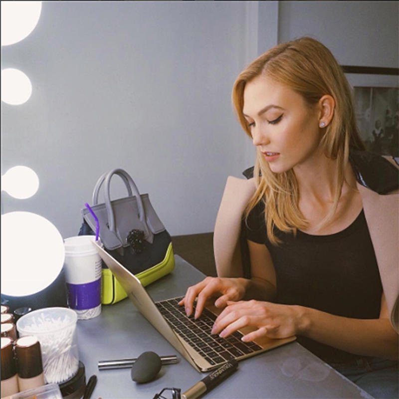 Karlie Kloss is very vocal on educating young women about technology. (Photo: Karlie Kloss/Instagram)