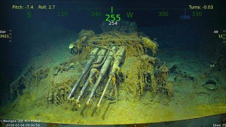 Sunken WWII aircraft carrier found off Australian coast