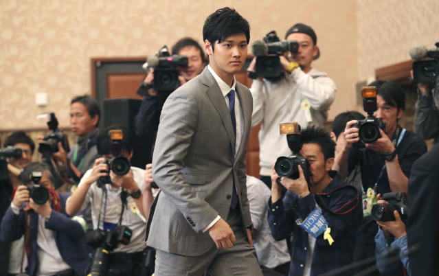 Shohei Ohtani picked the Angels, but that doesn't mean the saga is over. An MLB investigation could be next. (AP)